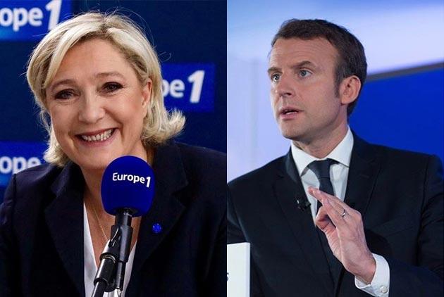 馬克宏VS.勒龐 法國新總統是政治素人還是女川普?