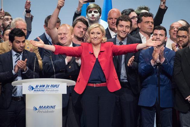 法國勒龐輸了嗎? 競選總部氣氛意外高昂