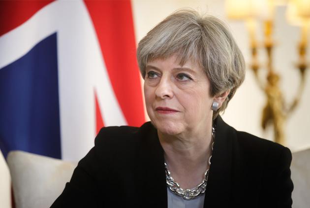 英大選  梅伊玩火自焚  英國走向「微脫歐」?