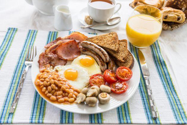 「脫歐就是早餐」  :脫歐對英國的影響,包括了英式早餐