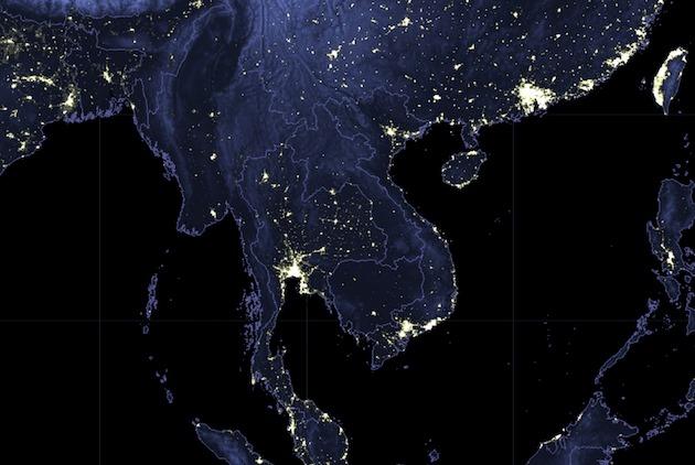 【數據看天下】北東協5國「亮點」,人造衛星拍...
