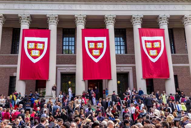 哈佛大學白人新生變少數 川普政府要展開歧視調查