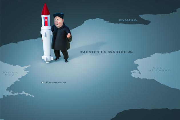 朝鮮半島風雲急 金正恩川普互逼對方至開戰邊緣