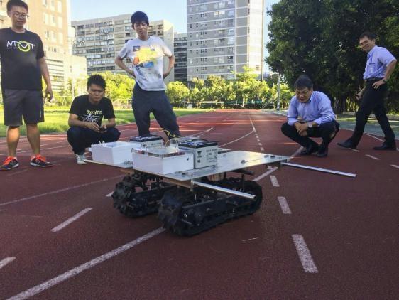 北科大學生走進日本鄉間,用機器人幫老農省力