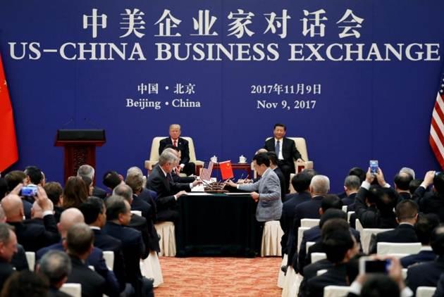 路透社:中美「奇蹟」的鉅額商業協議,粉飾失衡貿易