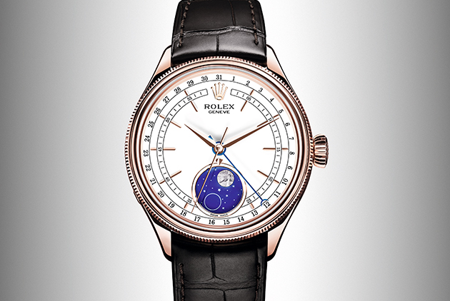 ROLEX CELLINI MOONPHASE 美如詩畫的月相...