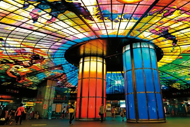 The Most Beautiful MRT Station, Charming from Inside Out