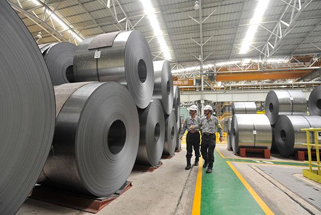 越南河靜鋼鐵投產 台灣南向的燕子來了