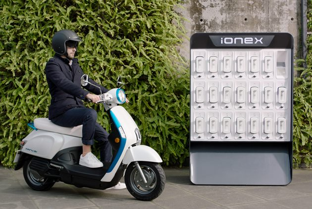 Kymco Announces New Battery System for E-scooters