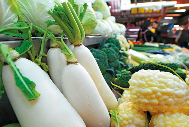 China's Takeover of Taiwan's Vegetable Market