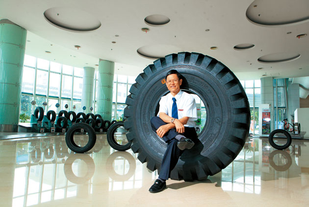 Greater China's Top Tire Empire Sets a New Course
