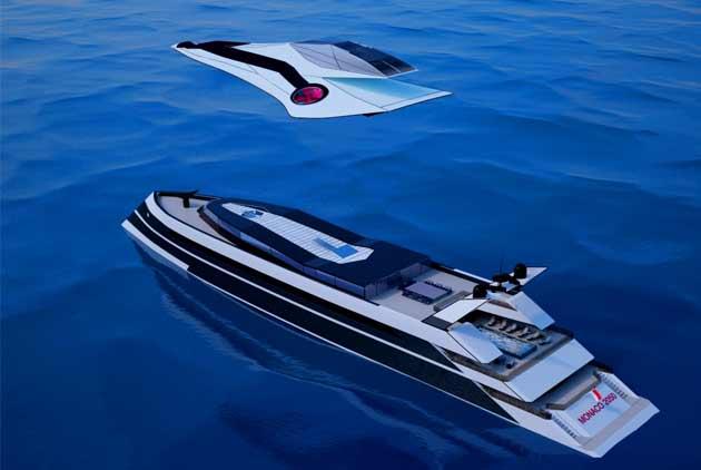 007不夠看 變形遊艇既是噴射機也是直升機