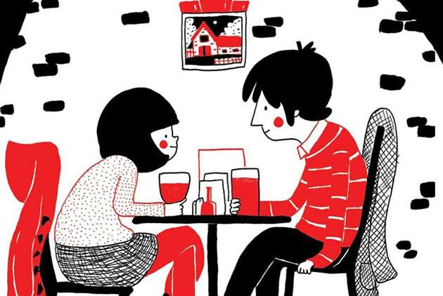 愛很簡單 24張漫畫道盡愛情美好 天下雜誌