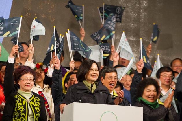 朱雲漢:沒有蜜月期的蔡總統