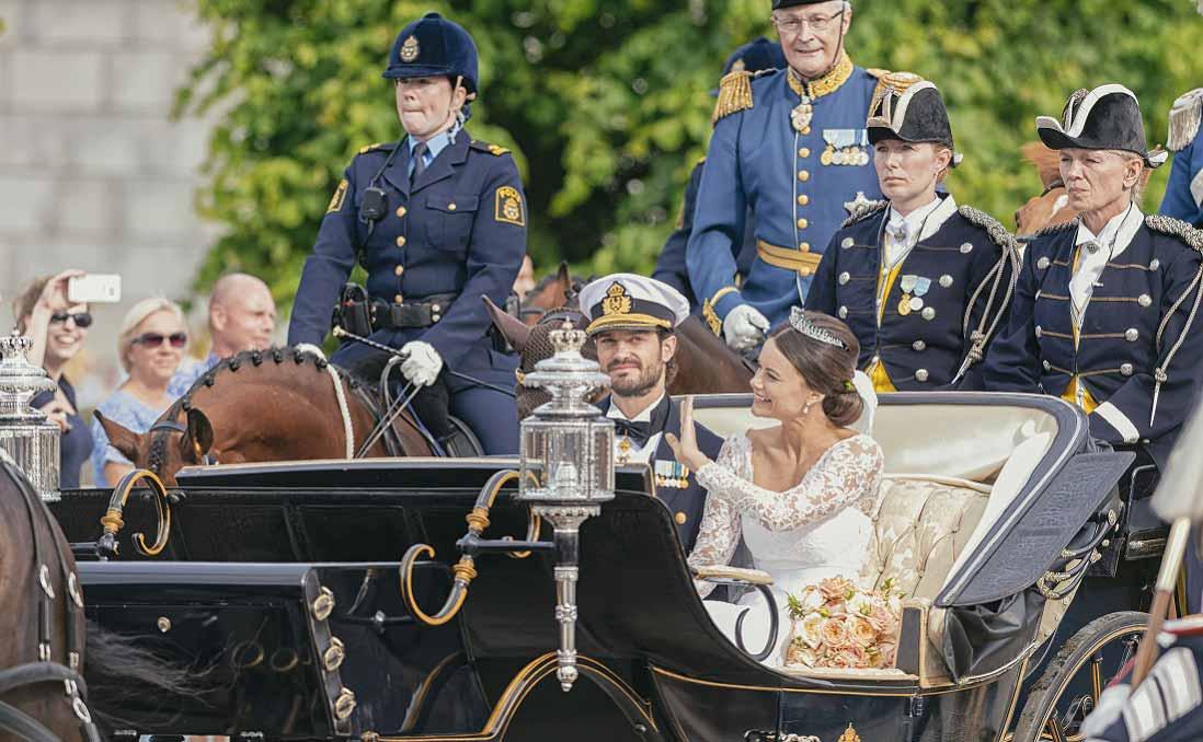瑞典王室婚禮,與六個特別的婚禮習俗
