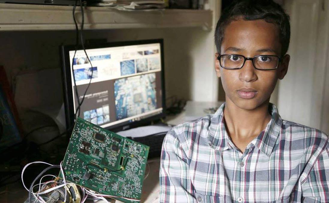 穆斯林少年設計的鬧鐘,被當成定時炸彈?──美國教育體制裡的偏見與歧視