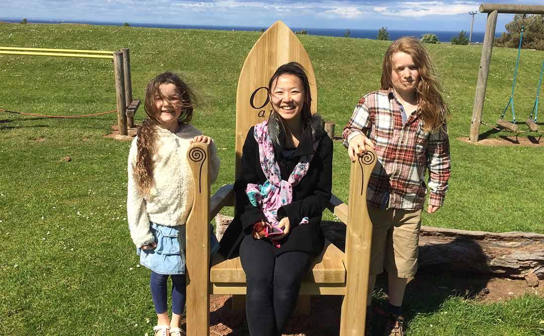 蘇格蘭寄宿家庭大小事──「介紹台灣,卻差點被小女孩問倒」
