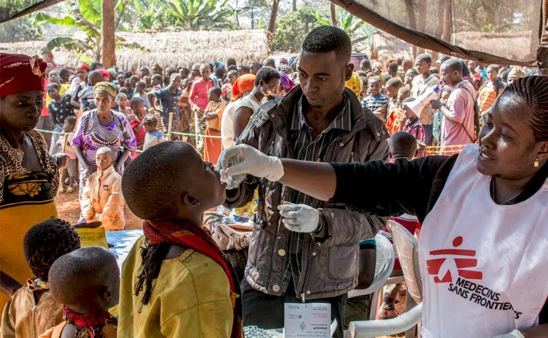 恭喜你加入無國界醫生!你的第一個任務......在剛果民主共和國!