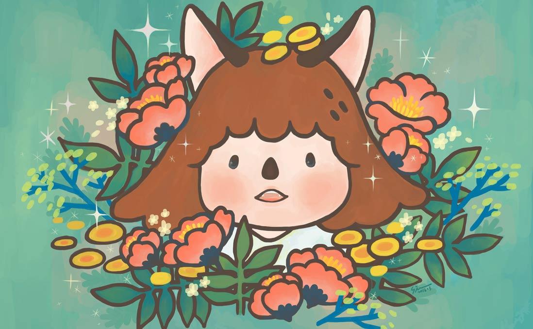 「我想透過插畫交流,讓全世界看見台南」──專訪胡乃琦,官田女孩行銷台南軟實力