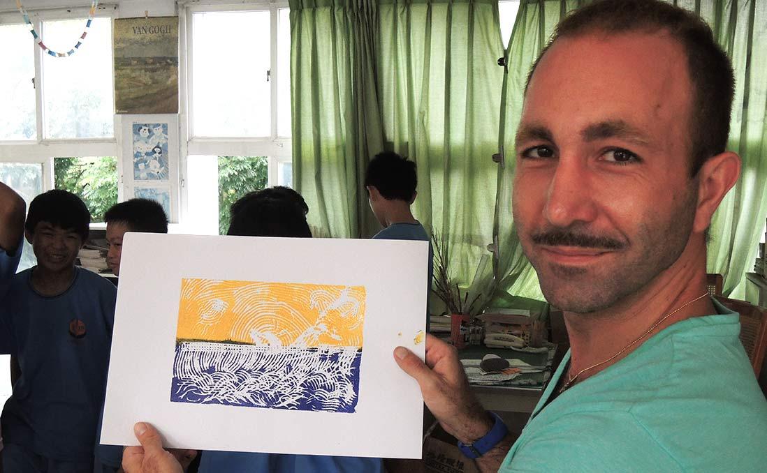 Ory:「我希望我這一次的生命,能夠活得更有價值一點,」──以色列沙發客帶台灣學生認識世界