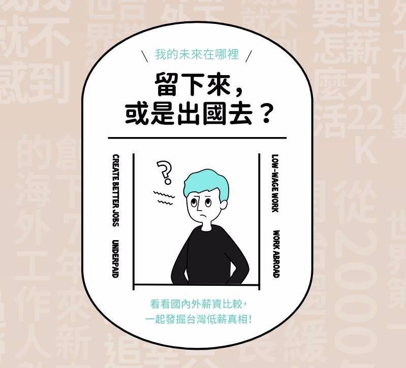 【留下來,或是出國去】台灣人才的未來在哪裡?