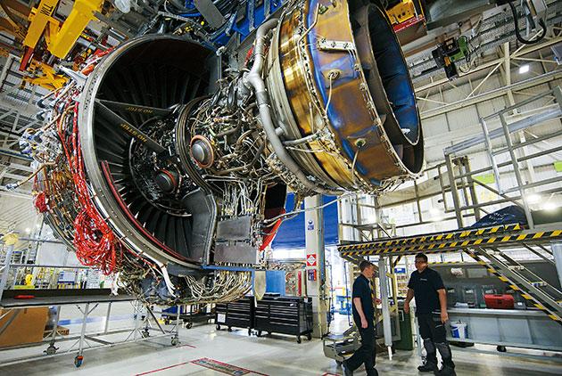 勞斯萊斯 不賣飛機引擎 改賣「飛行時數」