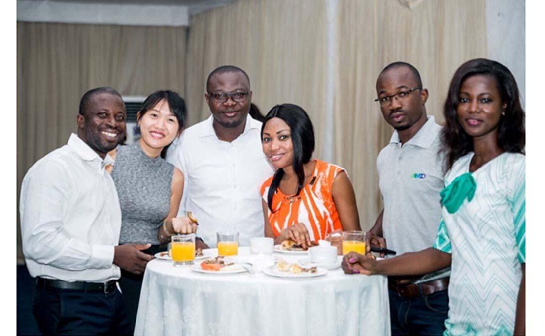 西非其他據點國家的同事前來迦納參與培訓。圖/阿心